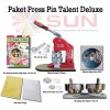 Paket Press Pin Talent Deluxe