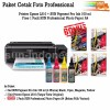 PRINTER EPSON L310 TINTA SUN PIGMENT PRO 100 ML BONUS PROFESSIONAL PHOTO PAPER A4