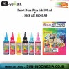 SUN ART PAPER + SUN DURA ULTRA INK 100 ML 1 SET (6 WARNA) - FREE ONGKIR