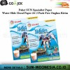 SUN Water Slide Decal Paper A4 - 2 Pack FREE ONGKIR